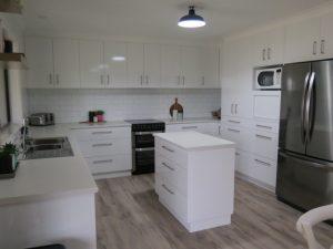 whole kitchen renovation, subway tiles, Corowa Home Improvements