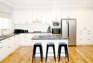 Melamine kitchen, kitchen rebuild, kitchens albury wodonga