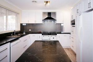 Caesarstone, renovation kitchen, 2 pac kitchen, kitchens Corowa