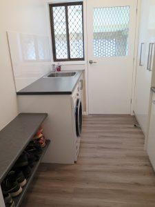Laundry Corowa, shoe storage, mud room