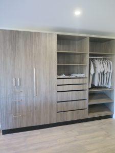 Shoe storage, open shelving, wardrobe showroom Corowa