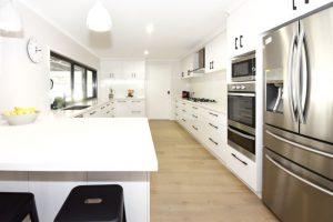 White kitchens, kitchen renovation, Corowa