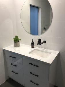 stone top vanity custom made Corowa